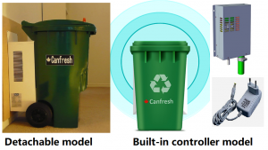 Canfresh Smart Bin, Eco recycle solution