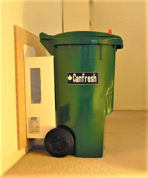 Odourless Recycle Bin